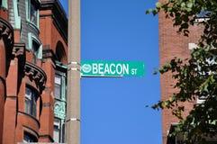 Popular Beacon Street, Boston, USA Royalty Free Stock Photography