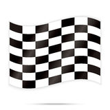Popular checker chess square abstract racing background vector Stock Photography