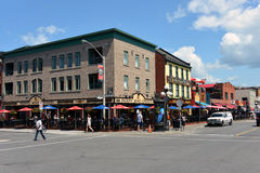 Popular Clarence Street in Ottawa Stock Photos