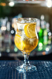 Popular cocktail based on vodka, gin, tequila and rum  Royalty Free Stock Photo