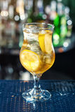 Popular cocktail based on vodka, gin, tequila and rum Stock Images
