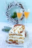 Italian Semifreddo Stock Photography