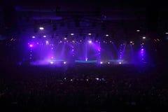 Popular DJ Armin van Buren at grand show Royalty Free Stock Photos