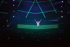 Popular DJ Armin van Buren at show ARMIN ONLY Stock Photos