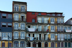 A popular facade in Oporto Stock Image