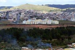 Popular habitation in brazil Stock Photo