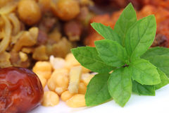 Popular Iftar items for holy Ramadan Stock Images