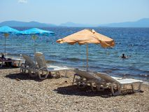 Kala Nera Beach, Greece Stock Photography