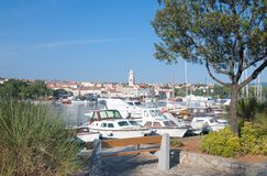 Krk Town,Krk Island,Croatia Royalty Free Stock Photography