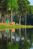 Popular Lake in Thailand Royalty Free Stock Images