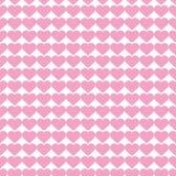 Popular love heart decor inspiration idea valentines day pattern Royalty Free Stock Photography