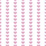 Popular love heart decor inspiration idea valentines day pattern Stock Images