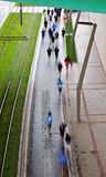 Popular marathon at Bilbao Royalty Free Stock Image
