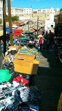 A popular market. In morocco stock photography
