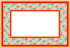 Popular motif, pattern, regular motif, tablecloth Stock Images