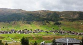A popular mountain resort Royalty Free Stock Photos