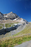 Popular mountain Taillon in summer. Stock Photos
