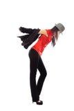 Popular music dancer Stock Image
