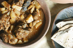 A popular mutton dish from Tamilnadu. Stock Image