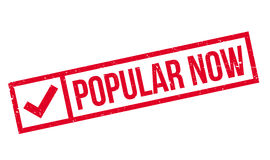 Popular Now rubber stamp Stock Photo