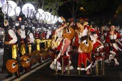Fado Popular Parade,  Mouraria Neighbourhood - Lisbon Festivities Stock Image