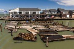 Popular Pier 39 in San Francisco Stock Photos