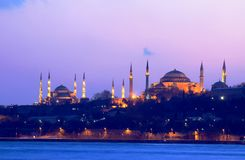 Popular Places in Istanbul Stock Photography
