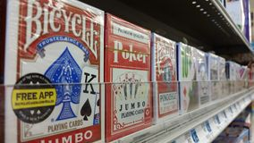 Popular Playing Card Brands Stock Photography