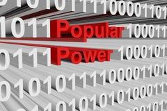 Popular Power Imagen de archivo