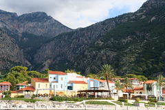The popular resort city of �lüdeniz in Turkey Royalty Free Stock Photography