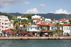 The popular resort city of Marmaris in Turkey Royalty Free Stock Photo