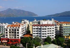 The popular resort city - Marmaris in Turkey Stock Photos