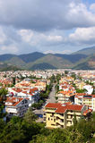 The popular resort city of Marmaris in Turkey Stock Photos