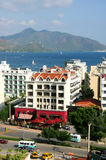 The popular resort city of Marmaris in Turkey Royalty Free Stock Image