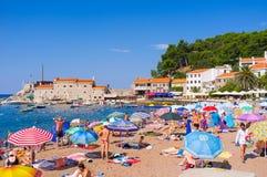 The popular resort stock image