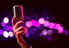 Popular singer Stock Images