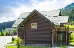 Popular ski resort Bukovel in the summer Royalty Free Stock Photography