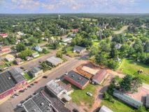 Small town Popular in Northern Wisconsin. Popular is a small town in northern Wisconsin located close to Superior, WI and Lake Superior royalty free stock photos