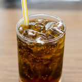 Popular Soda In Resturant Stock Photos