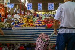 Popular street fair in Brazil Stock Image