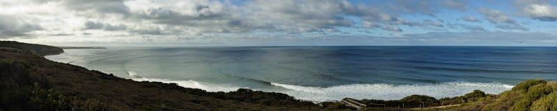 Popular surfing break Royalty Free Stock Photography