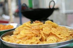 Popular sweeet desert in india Stock Photo