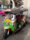 Popular  taxi in thailand(TUKTUK) Stock Photo