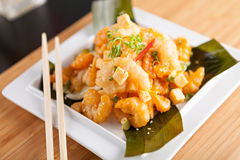 Popular Thai Shrimp Dish Royalty Free Stock Photos