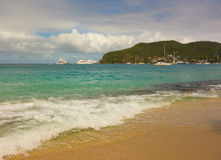 A popular tourist destination in the caribbean Stock Image