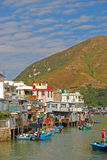 Popular Tourist Destination Tai O Fishing Village Royalty Free Stock Photos