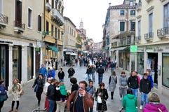 Street in Venice royalty free stock photo