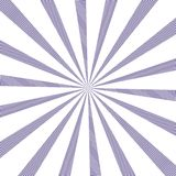 Popular vector sun rays background ultra violet color. Sunburst Pattern. Popular color 2018 year ultra violet. Vector background Royalty Free Stock Photos