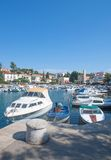 Malinska,Krk Island,Croatia. The popular Village of Malinska on Krk Island,adriatic Sea,Croatia Stock Images