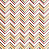 Popular vintage chevron design pattern 3D VECTOR seamless Royalty Free Stock Images